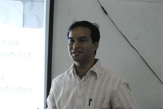 Amit Grover, founder of Nurture Talent Academy